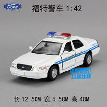 KINSMART Die-Cast Metal Models/1:36 Scale/Ford Crown Victoria Police Interceptor toys/for children's gifts or for collections