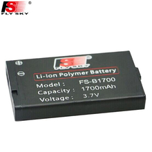 1pcs FLY SKY FS-BA1700 3.7v rechargeable lithium battery & FS-BC101 charger for i10 original battery GT2B GT3C iT4 iT4S(China)