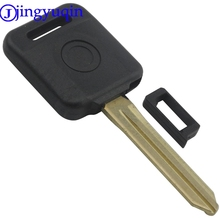 jingyuqin 10ps/lot Transponder Key Shell For Nissan Teana Versa Livina Sylphy Tiida Sunny March X-trail 4D-60 01 02 03(China)