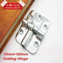 Zinc Alloy Thickening Folding Door Hinges Slliding Flap Hinge Hidden Vintage Hinges 2pcs
