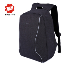 2017 Tigernu Brand Anti-Theft Design Men's Backpack Business Backpack Women 14-17 Inch Backpack Leisure Travel Mochila Feminina(China)