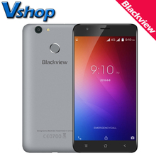 Original Blackview E7 4G Mobile Phones Android 6.0 1GB RAM 16GB ROM Quad Core Smartphone 720P 8MP Dual SIM 5.5 inch Cell Phone
