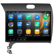 "10.1"" Android 6.0 car dvd player for Kia K3 Forte Cerato 2013 2014 car radio gps navigation car stereo head unit Bluetooth wifi(China)"