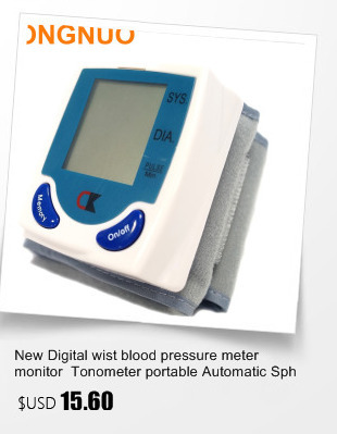 Portable Blood Pressure Monitor Health Care Pulse Meter Automatic Digital Sphygmomanometer Household Tonometer Medical Shipping 6
