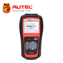 [3pcs/lot] Autel AutoLink AL519 OBDII/EOBD Code Reader diagnosis 10 modes Works on ALL 1996 and newer vehicles (OBDII & CAN)