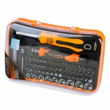 Original Jakemy Hand Tool 66 in 1 Screwdrivers Set Household tool set case for repair Furniture Appliances computer tools(China)