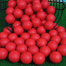 10 pcs/pack Special Indoor PU Golf Ball golf for Practice Red Blue Yellow Orange Variety of Colors