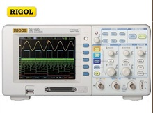 RIGOL DS1102D Digital Colorful 100MHZ 2Channels Oscilloscope 1GSa/s 1M Memory & 16 Channels Logic Analyzer 2in1 5.6'' TFT LCD