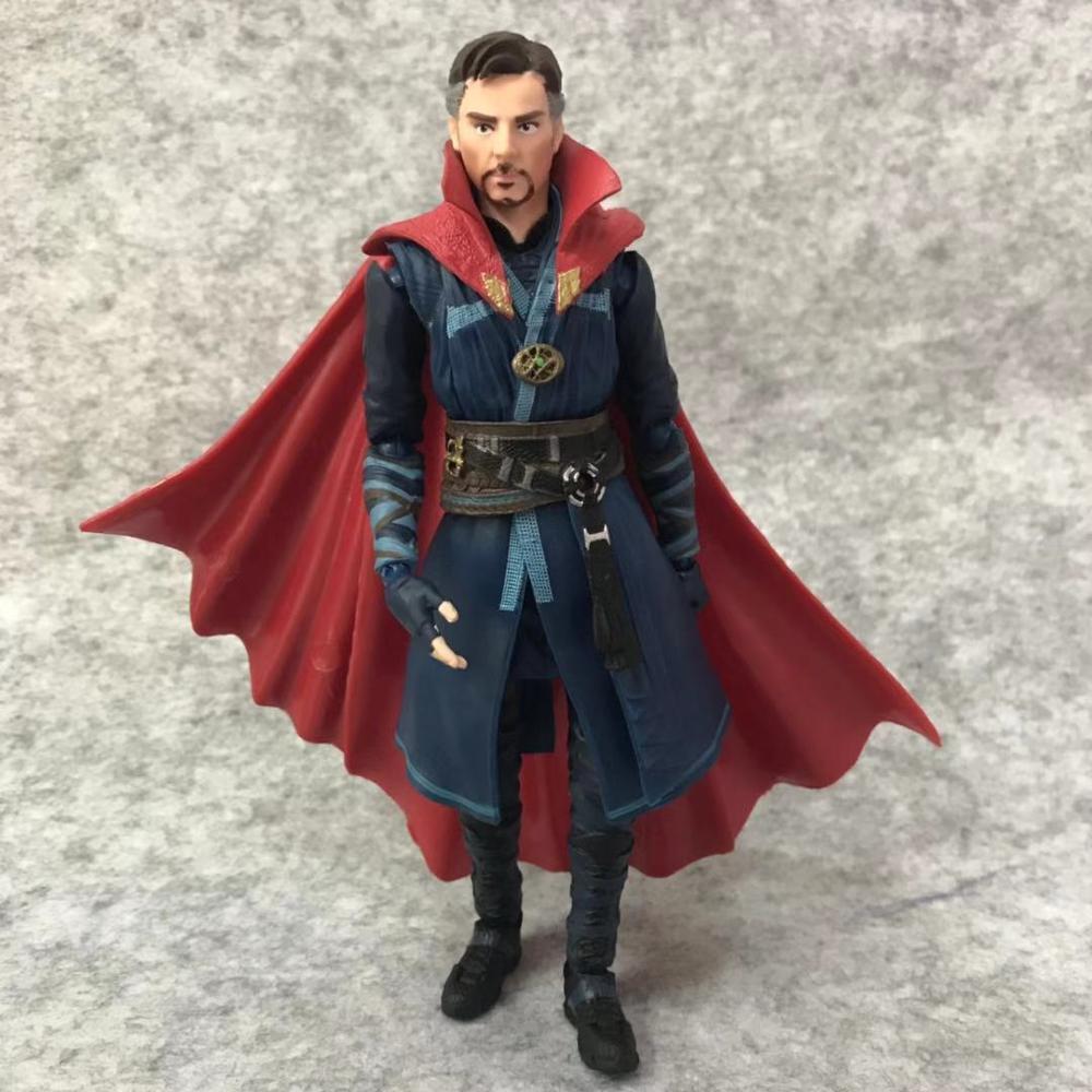 SHFiguarts Avengers Infinity War Black Widow Thanos Iron Man SpiderMan Star Load Doctor Strange Captain America Action Figure (8)