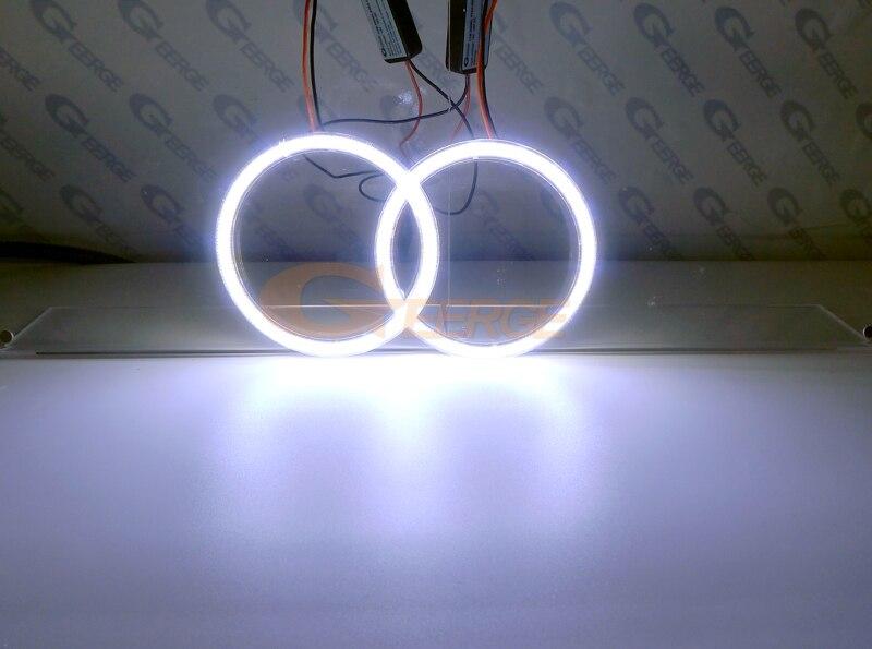 cob led angel eyes kit halo rings 2x100mm(5)