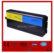 2000W Inverter Prices 24V to 110V Off Grid DC to AC PV Inverter+Pure Sinewave Inverters+Full power