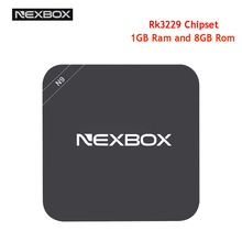 NEXBOX N9 Smart TV Box Android 4.4 RK3229 Set-top Box 1GB DDR3 8GB Flash 2.4GHz 4K*2K Ultra HD Video 2.0 Smart Media Player