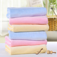 Code Solid Velvet Keep Warm Soft Comfortable  Strong Water Absorption Close To The Skin Baby Bath Towel TRQ0103