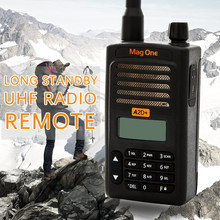 Walkie Talkie Mag One A2D+ UHF 403-470MHz 5W Portable Two Way Radio handle interphone Ham CB radio Transceiver(for motorola)