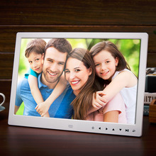 13 Inch 1280*800 HD Front Touch Digital Photo Frame High Resolution Wide Screen Picture Frame Photo Album Frame US/EU/UK Plug(China)