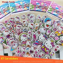 Very Lovely Hello Kitty wall stickers,Hello Kitty toys stickers,Children's rooms DIY fashion decor stickers(China)