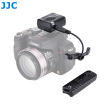 JJC JM-D(II) 16 Possible Radio Channels Wireless Shutter Release Remote Control for PANASONIC DMW-RS1/RSL1 Compatible Cameras