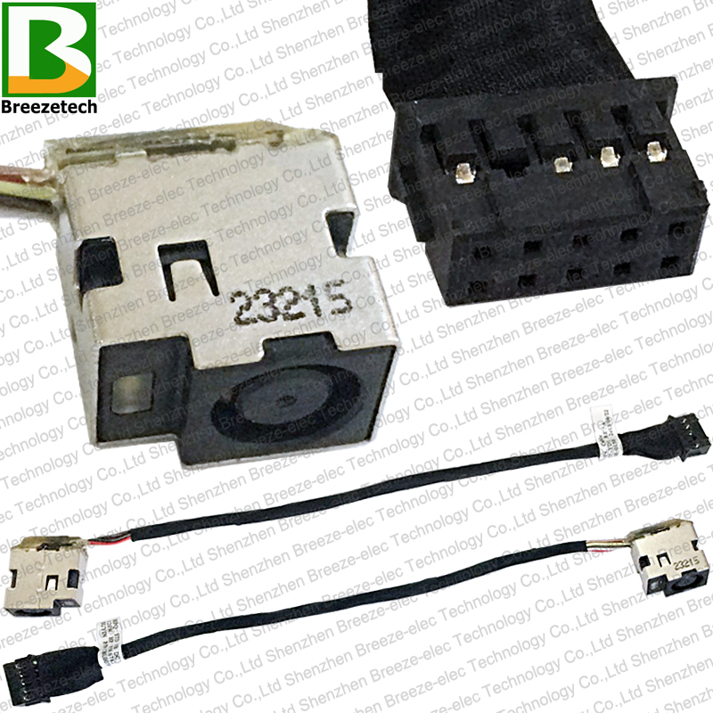 Original DC power jack plug in cable for HP dv6-7363cl dv6-7373ca