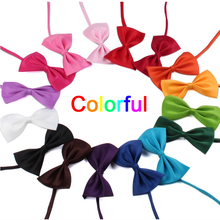 Mix Colors 50pcs/lot Adjustable Pet Cat Dog Bow Tie Cat Necktie Collar Dog Neck Tie Dog Bow Tie Cat Tie Pet Supplies(China)