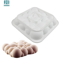 Joinhot Baking White Silicone Cloud Shaped Mousse Cake Mould Dessert Decorating Tools(China)