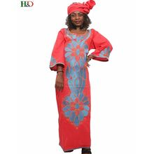 H D plus size african dresses for women africa winter dress bazin riche  long robe africaine femme ca70011af6c4
