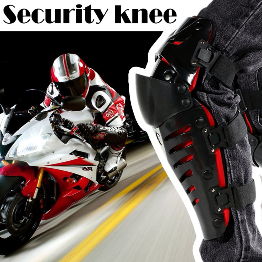 1pair Free Shipping 100% Original Motorcycle Knee Protector Motocross Racing Knee Guards MX Knee Pads Protective Gears<br><br>Aliexpress