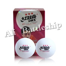 Original 6x DHS 40+ New Materials 3-Star 3 Star 3Star White Table Tennis PingPong Balls