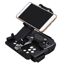 SUNNYLIFE Foldable Phone Smartphone Tablet Stand Holder Mount Clip Stretching Bracket for DJI Mavic Pro&Spark Remote Control(China)