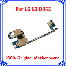 for LG G3 D855 32GB Mainboard, Original unlocked Motherboard with Android System,Complete Logic Boards for G3 D855(China)