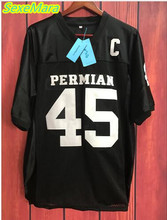 SexeMara Permian Movie Mens Cheap Friday Night Light American Football Jerseys #45 Boobie Miles Jersey Retro Stitched Black