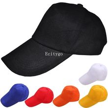 6 Colors Casual Solid Hat Mens Womens Unisex Plain Fitted Baseball Cap VisorBlank Flat BasicAdjustable Hat For Female Male F05