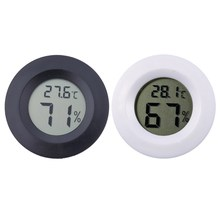 Mini LCD Digital Thermometer Hygrometer Fridge Freezer tester Temperature Humidity Meter detector High Quality(China)