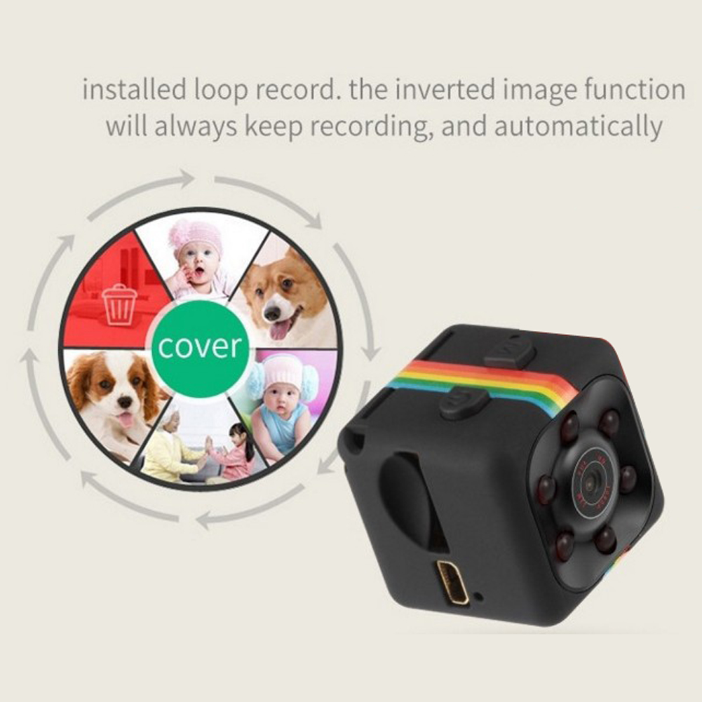 Original Mini Car DVR Camera Full HD 1080P 140 Degree Night Vision G-Sensor Motion Detection Cycle Recording DVRS High Quality 13