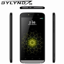 "Original cheap celular BYLYND X9 Android 6.0 China SmartPhones 8G ROM games 5MP MTK6580 quad core 5.5"" mobile Phones unlocked HD(China)"