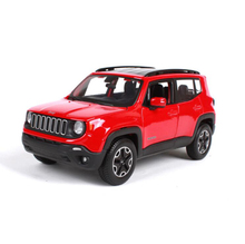 1/24 Maisto Jeep Renegrade City Suv Zinc Alloy High Percision Car Model for Collection