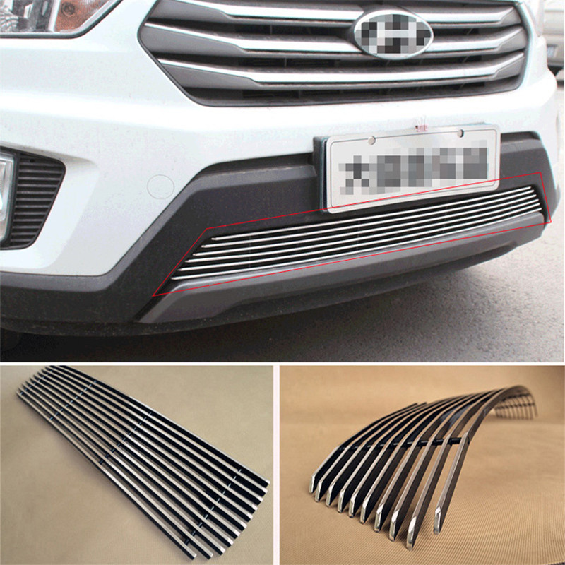 Aluminium Front Center Racing Grills Billet Grille Cover For Hyundai IX25<br><br>Aliexpress