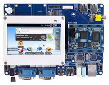 ARM11 Tiny6410 Development Board (Enhanced Ver.) S3C6410 256M DDR 1GB Flash+4.3 inch Resistive Screen