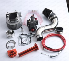 Motorcycle Modified Carburetor PWK30 Kit Cylinder Kit Scooter GY6 200cc 63MM  157QMJ