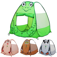 Portable Animals Play Tent for Kids Outdoor Garden Houses for Children Toy Pop Up Outdoor Folding Baby Tent Kids Cartoon Toys(China)