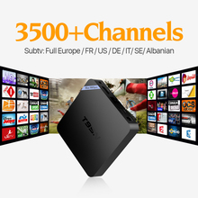 Cheap T95N Android 6.0 Smart TV Set Top Box Quad Core S905X 2GB+8GB HD H.265 Video Decode Network Media Player 4K with UK IPTV