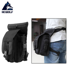 Outdoor Unisex Waterproof Military Tactical Leg Bag Solid Utility Thigh Pouch Waist Belt Pouch Weapons Sports Bag