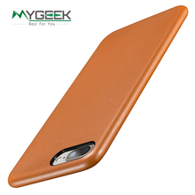 MyGeek Luxury PU Leather Mobile Phone Case for iphone 5 5S SE 6 6s 7 Plus Leather case back cover