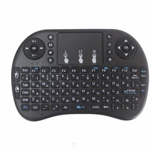 Original i8 Russian  Version i8+ 2.4GHz Wireless Keyboard Air Mouse Touchpad Handheld for Android TV BOX Mini PC