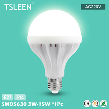 +Cheap+ New Arrival E27 E14 LED Bulb Light 3W 5W 7W 9W 12W 15W Cool Warm White Lamp X1 # TSLEEN