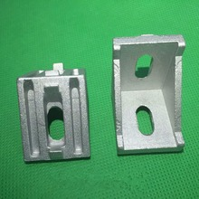 3030 bracket corner fitting angle aluminum 28x35 L bracket fastener for 3030 aluminum profile 1pcs