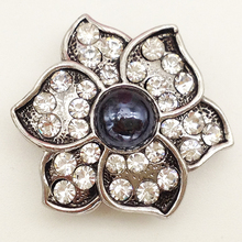 MN1091 Snap Button Jewelry Oem, Odm Welcome Hot Sale Metal For Bracelet(China)