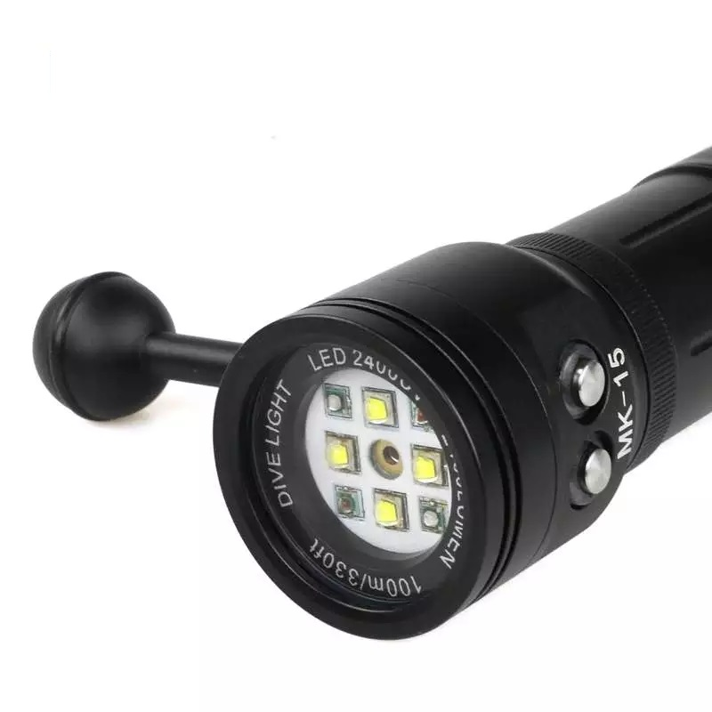 2016-MK-15-Meikon-2400LM-Diving-Torch-Lighting-Light-with-Laser-for-Underwater-Waterpoof-Video-Camera (1)