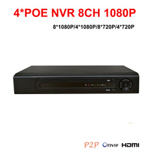 Buy 8*1080P NVR 4*POE IP Recorder HDMI VGA 1*6TB SATA NVR Network Video Recorder Onvif NVR POE CCTV Recorder IP Cameras for $146.00 in AliExpress store