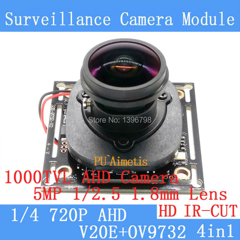 1MP 4IN1 720P 360 Degree Wide Angle Fisheye Panoramic Camera CCTV Camera AHD Infrared Surveillance Camera Security ODS/BNC Cable<br><br>Aliexpress