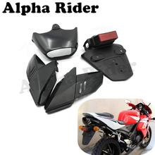Exhaust Support Side Fairing Cover Rear Mudguard Fender License Holder Complete for Honda CBR600RR 2003-2004 CBR1000RR 2004-2005